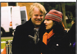 Tamara Jenkins directs Philip Seymour Hoffman in The Savages